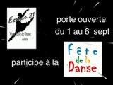 """Il y aura la Fête de la Danse à Chénée (liège) dans l'école """"Espace 21"""" et des portes ouvertes du 1 au 6 septembre 2014"""