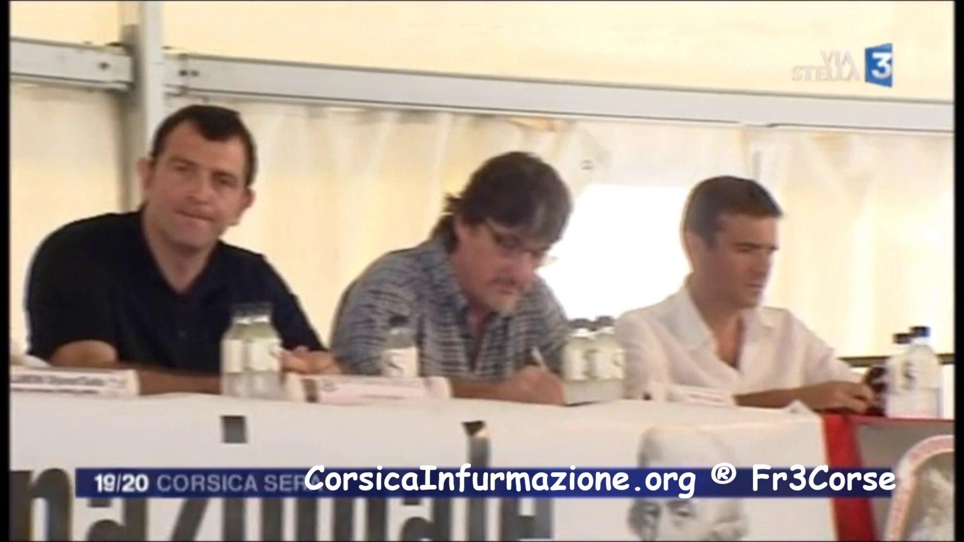 #Corse Jean Charles Orsucci 'PS' aux #GhjurnateDiCorti #FLNC