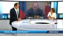 """Grand Angle du 64' : Ukraine - Russie : la clé """"Poutine"""" ?"""