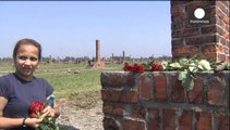 Roma remember victims of the Nazi genocide