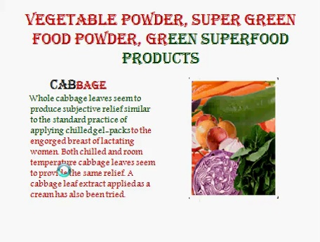 Health Food Products