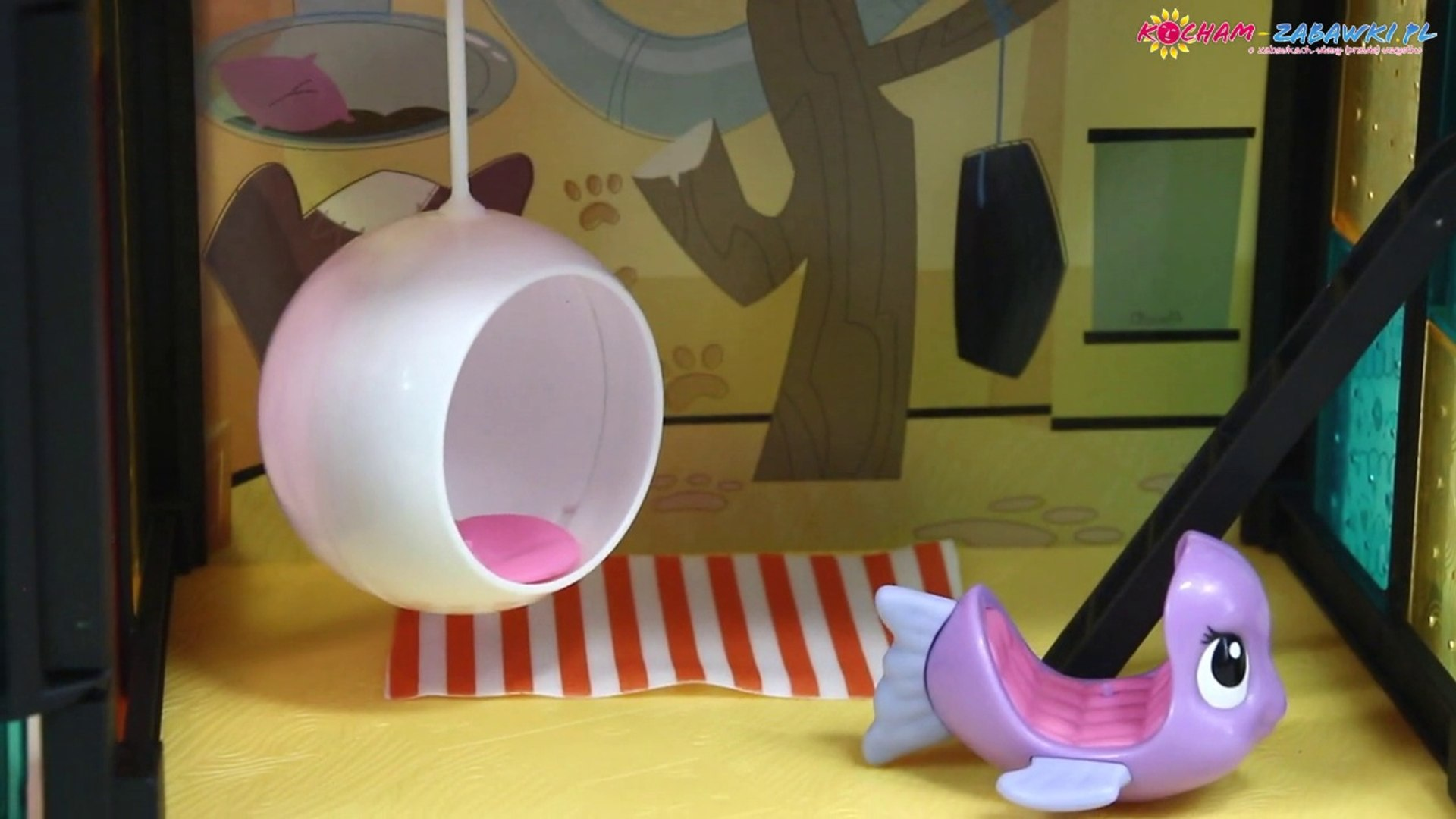 Pet Day Camp Style Set / Zestaw Dzień Zabawy - Littlest Pet Shop - A9478 - Recenzja