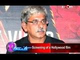 Alia Bhatt, Siddharth Malhotra, VArun Dhawan at 'Hercules' movie screening