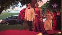 Charlène de Monaco enceinte et radieuse pour une soirée mondaine (Photos)