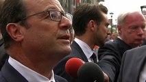 François Hollande est revenu, lors d'une interview, sur la situation internationale, en Ukraine, au Proche et au Moyen-Orient