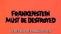 LE RETOUR DE FRANKENSTEIN (1969) Bande Annonce Sous-Titrée Français