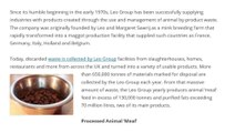 Leo Group Supplies Pet Food Industry with Waste Efficient Products