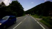 Szlovákia, 59-es út, 4. rész   Slovakia, road 59, part 4    Suzuki GS 500F