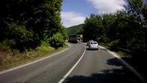 Szlovákia, 59-es út, 7. rész   Slovakia, road 59, part 7    Suzuki GS 500F