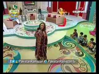 Special EID show Dr Aamir Liaquat with Bushra Ansari on #Express Part 03