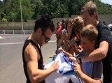 Le message de Valbuena aux supporters