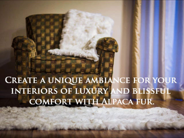 Luxurious Fur Blankets From Alpaca Plush