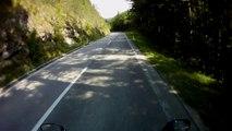 Ausztria, 21-es út, 10. rész   Austria, road 21, part 10    Suzuki GSX 650F
