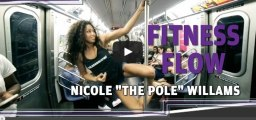 #FitnessFlow: Pole Dancing Tips With Nicole 'The Pole' Williams