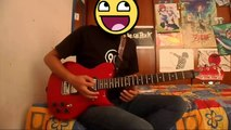 One Ok Rock - Myghty Lon Fall ♪♪【Guitar Cover】♪♪ Concurso One Ok Rock In México