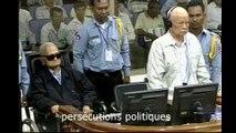 Deux chefs des Khmers rouges condamnés pour crimes contre l'humanité