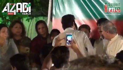 Security Guard Spends All His Salary To Record A Song For Imran Khan Azadi March