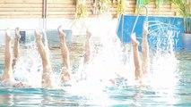 Gala de l'équipe de France de natation synchronisée au Puy-en-Velay