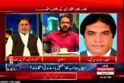 Fight between Umer Riaz Abbasi (PAT) & Hanif Abbasi (PML-N) in Express Kal Tak of Javed Chaudhry