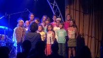 Hautes-Alpes: Les enfants chantent à Montgenèvre
