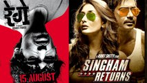 Rohit Shetty & Ravi Jadhav To Team Up For Singham Returns & Rege?