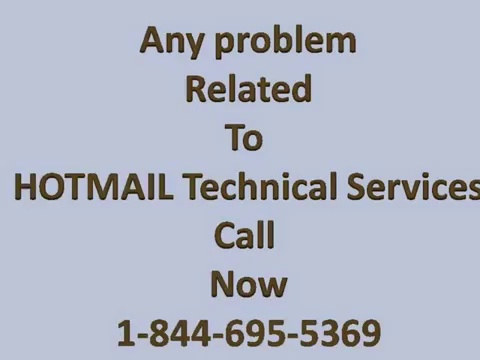 1-844-695-5369-Hotmail Customer Support Contact TollFree Telephone Number for Tech Support USA