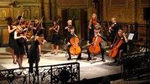 """MVI_4340""""Les Fancy Fiddlers"""" :  Les jeunes Virtuoses d' Europe """"Florilège de la Musique de Chambre"""" avec Coosje Wijzenbeek Direction le Jeudi 07 Aout 2014 en l'Eglise St Luc de Ménerbes via """"Les Musicales du Luberon"""""""