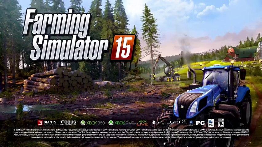 Farming Simulator 15 - Annonce officielle du jeu