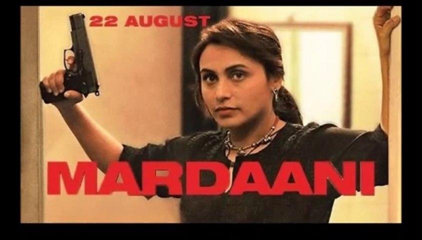 Rani as Supercop in Mardaani