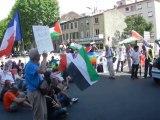 MANIFESTATION POUR GAZA : MESSAGE DE JERUSALEM ET PALESTINE