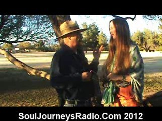 Dr. Larry Babcock demonstrates Rock Dowsing