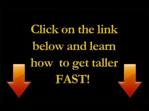 How to Increase Height – How to Get Taller