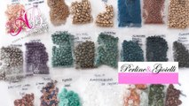 Review acquisti perline & gioielli | Superduo Suede, Petal beads, Tri-beads, O-beads
