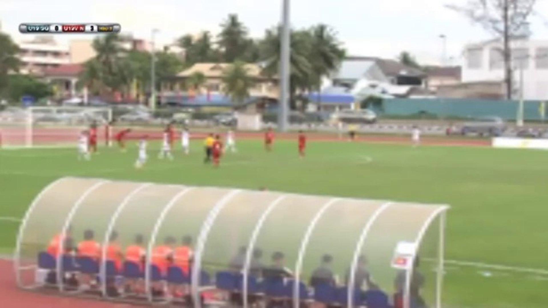tường thuật trực tiếp U19 Singapore Vs U19 Việt Nam 09/08/2014  - By RealTV.vn