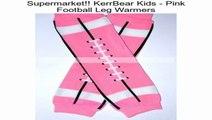 KerrBear Kids - Pink Football Leg Warmers Review