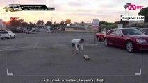 [ENG] [American Hustle Life] Unreleased Cut - Ep.3 V's. Suga's and Jungkook's skateboard stunts | ABS