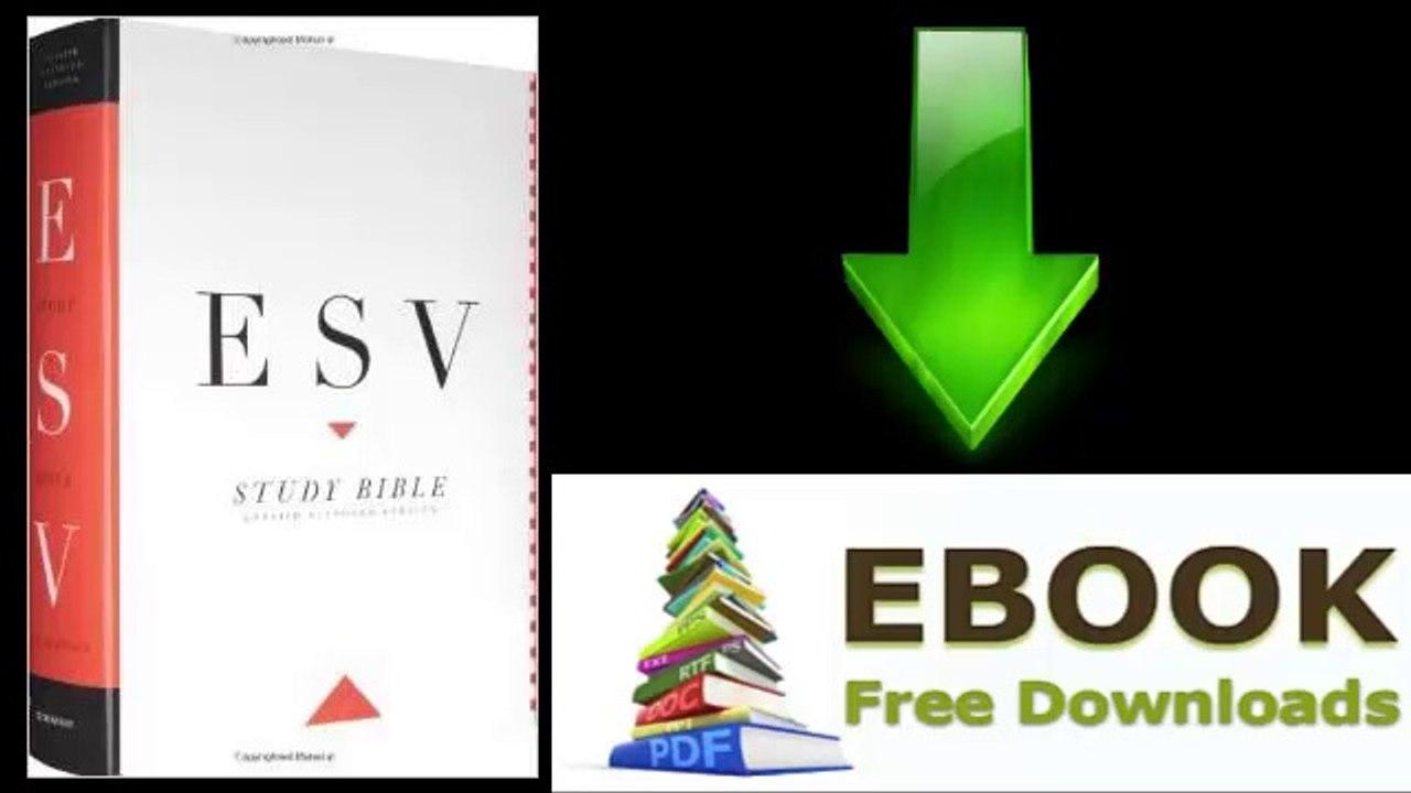 [Download eBook] ESV Study Bible, Large Print by ESV Bibles by Crossway
