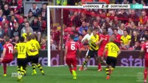 Liverpool vs Borussia Dortmund 4-0 ~ Dejan Lovren First Goal ~ Friendly Match ~ 2014 HD