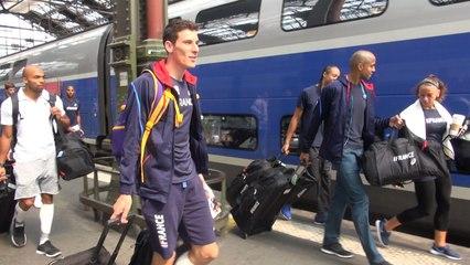 L'équipe de France en route pour Zurich !