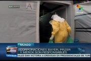 Farmacéuticas mundiales vinculadas con guerras biológicas