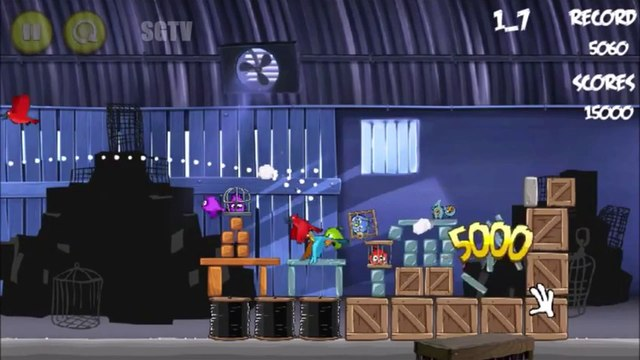 Angry Birds Christmas Game - Angry Birds Cartoon Like   Funny Angry Birds Videos