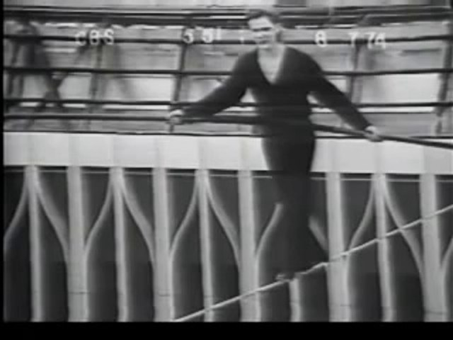 40 Years Ago, Philippe Petit Walked On A Wire Between The Twin Towers
