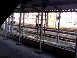 阪和線225系発車→和歌山線105系入線→阪和線225系入線 和歌山駅