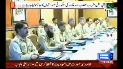 Pakistan Army Corps Commanders Meeting Presided By Army Chief Interior & Exterior Situation Is Being Pondered