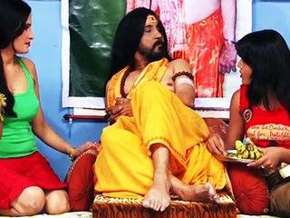 Sadhu Enjoys With Two Women | Swarg Aashram | Radha Gautam, Subodh Govil | Part 1