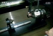 co2 laser engraving machine with rotary device for glass bottle engraving
