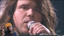 "Caleb Johnson ""Faithfully"" AMERICAN IDOL SEASON XIII 2014 reaction"