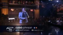 """Wow ! Caleb Johnson performs """"Don't want to miss a thing """" on AMERICAN IDOL SEASON 13  XIII REACTION"""