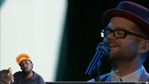 """josh kaufman performs """"This is it """" The voice 2014 top 8 Solid performance Great reaction"""