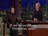 Robin Williams é medalha de ouro em grosseria no Late show de David Letterman - legendado